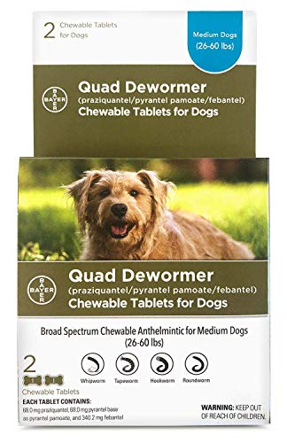 Dog quad dewormer