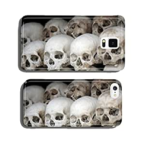 human skulls at the killing fields in cambodia cell phone cover case iPhone5