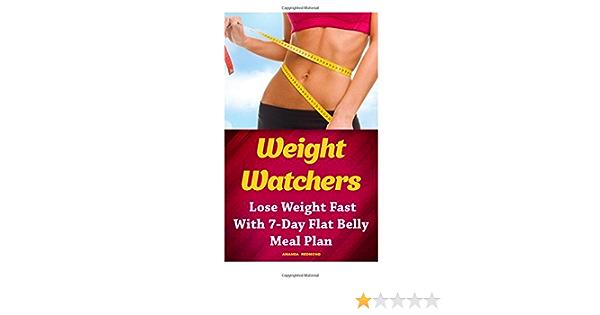 weight watcher diet belly fat