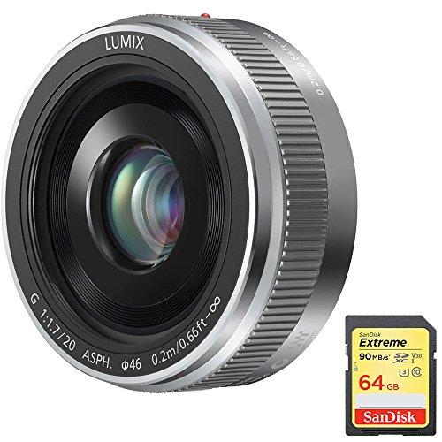 Panasonic LUMIX G 20mm / F1.7 II ASPH. Silver Lens  with San