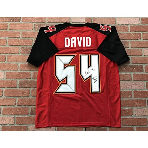 promo code 41a53 f7759 Lavonte David autographed signed insc. jersey NFL Tampa Bay ...