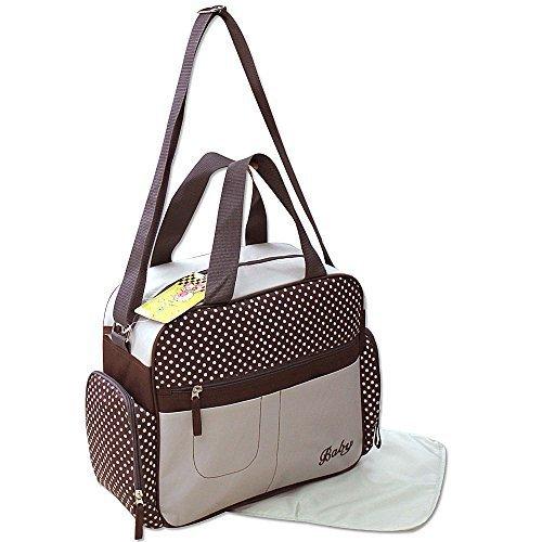 GMH 2 piezas bolsa de pañales cambiantes bolsa bebé bolsa de bolsa de pañales de selección de color amarillento 2130