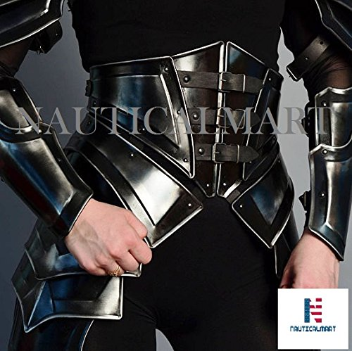 NAUTICALMART Сorset (Cuirass) Lady Larp Hunter Halloween Costume Armor