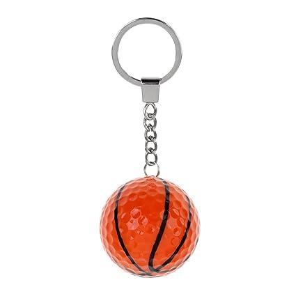 Sharplace Llavero Bola Regalo Deportivo Accesorio de Decoracion de Bolsa Duradero - Baloncesto