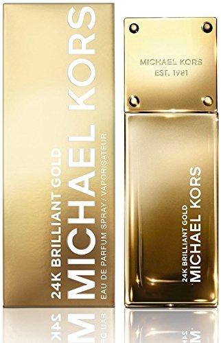 Michael Kors 24K Brilliant Gold Eau de Parfum Spray , 1er Pack (1 x 30 ml)