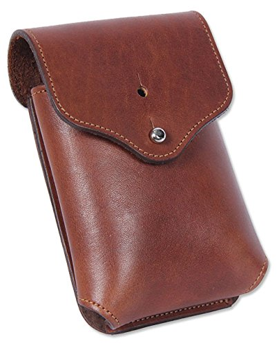Orvis Leather Smartphone Holster - Rdr/Leather Smartphone Holster, Brown, Large