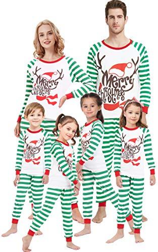 Matching Family Pajamas for Girls Merry Christmas Deer Boys Pjs Mum and Me Sleepwear Baby Clothes Kids Pyjamas Kids 2t