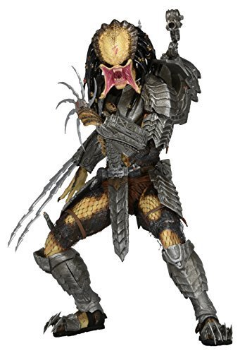 NECA Predator 7 Scale Action Figure Series 14 Scar (Unmasked) Action Figure by NECA
