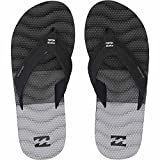 Billabong Men's Dunes Tribong Non Slip Sandal Flip Flop, Black, 12 US/12 M US