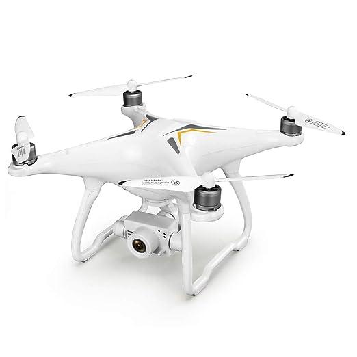 WLPT GPS RC Drone, JJRC X6 Aircus Drone con estabilización de Dos ...