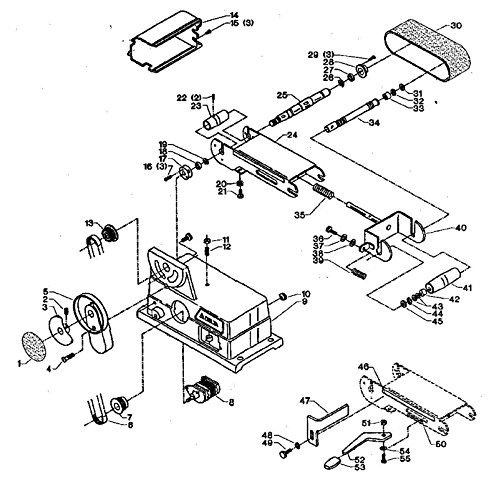 6 Disc Sander Model 31460 Typeunk Parts