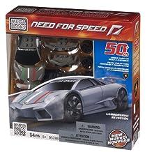 Mega Bloks Need for Speed Lamborghini Reventon - Grey Set