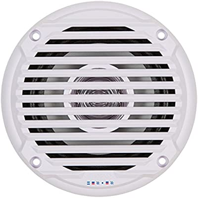jensen-525-white-dual-cone-waterproof