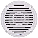 JENSEN 5.25'' White Dual Cone Waterproof Speakers