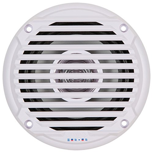 JENSEN 5.25'' White Dual Cone Waterproof Speakers by Jensen