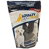 Loyalty Dog Treats Free Range, Wild Grass Fed Kangaroo, Free of Any Hormones or Additives, All Natural and Healthy Kangaroo Steak, 75g Bag