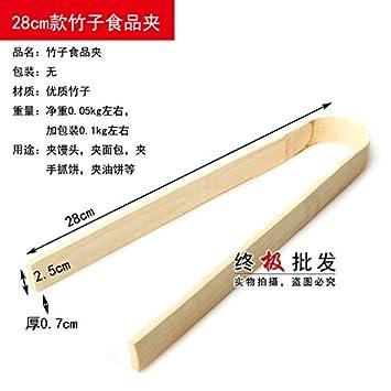 Xing Lin Pinzas De Espagueti Alimentos Clip Clip Clip Panecillos Cocidos Barbacoa Bambú Pastel No Está