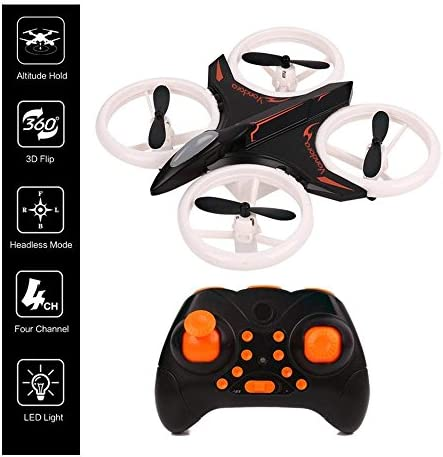 RC Drone, Mini Drone for Kids and Beginners, Mini Drones Quadcopter with LED Lights, Altitude Hold Height Headless 4CH 2.4Ghz Helicopter Steady Super Easy Fly for 3 4 5 6 7 8-12 Year Old Boy Toys 51mvRwTNYEL