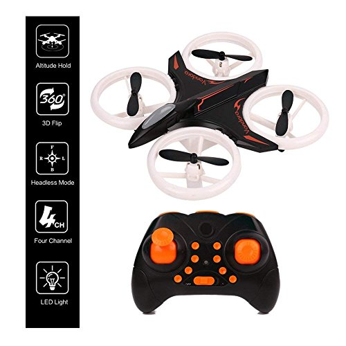 RC Drone, Mini Drone for Kids and Beginners, Mini Drones Quadcopter with LED Lights, Helicopter Steady Super Easy Fly for 3-15 Year Old Boy Toys
