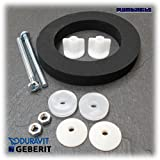 Duravit Foam Cistern Coupling Doughnut Washer Seal and Bolts by Geberit