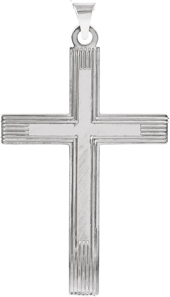 Sterling Silver Cross Pendant for Women Fine Jewelry Ideal Gifts For Women