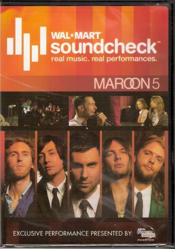 Maroon 5 - WalMart Soundcheck (Limited Edition Rlease)