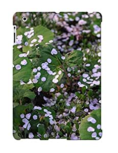CvhcWFW550xrbsz New Ipad 2/3/4 Case Cover Casing(white Petals On The Ground )/ Appearance
