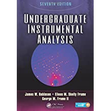 Undergraduate Instrumental Analysis, Seventh Edition