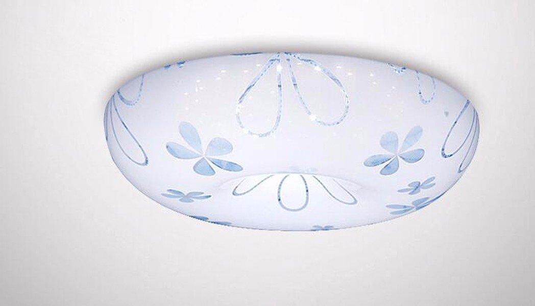 50cm D'occultation de Gradient  Plafonniers liwenlong Lampe de plafond led chambre salon restaurant étude éclairage acrylique, 50cm d'occultation de gradient