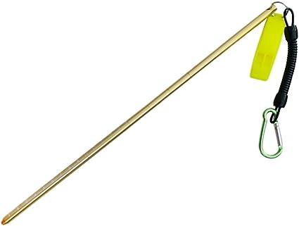 Riffstab mit Spiralleine und Clip Zeigestab