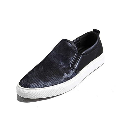 0a1b52e1ccaa Chaussure de Marche de la Ville sans Lacet Homme Basse Respirant Chaussure  Lok Fu au Loisir