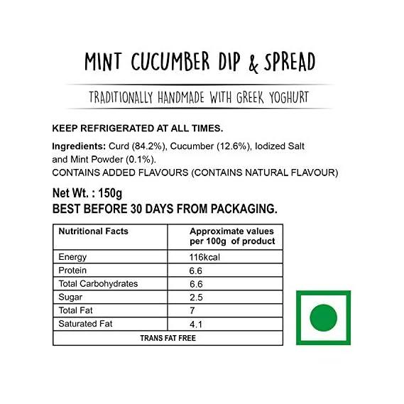 Wingreens Farms Greek Godess - Mint Cucumber, 150 g