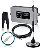 Smoothtalker Mobile X1 50dB High Power RV/Motorhome Cellular Signal Booster Kit with Fused Install Power Supply