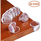 Corner Guards, Baby Proofing Corner Guards, Baby Corner Guards, Baby Safety Corner Guards, Edge Corner Guards for Sharp Furniture (20 Pack, Clear).
