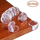 Corner Guards- Baby Proofing Corner Guards- Baby Corner Guards- Baby Safety Corner Guards Edge Corner Guards for Sharp Furniture (20 Pack, Clear)