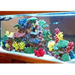 Instant Reef DM058 Artificial Coral Inserts Decor, Fake Coral Reef Decorations for Colorful Freshwater Fish Aquariums, Marine and Saltwater Fish Tanks 10