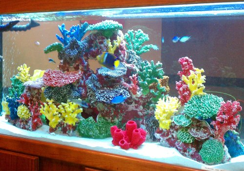 Instant reef artificial coral reef for aquarium decor for Artificial coral reef aquarium decoration inserts