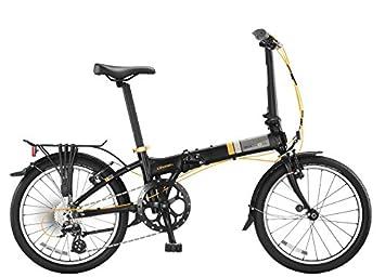 Dahon vitesse D8 plegable bicicletas, negro, unisex