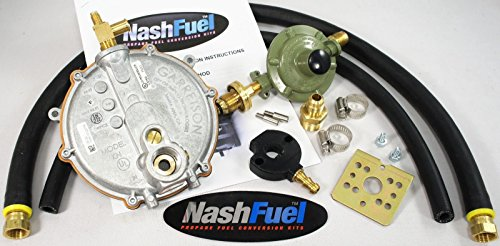 Fuel Component Kit - Tri-Fuel Propane Natural Gas Generator Conversion Honda EU3000IS Alt Fuel Green