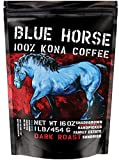 Farm-direct: 100% Kona Coffee, Dark Roast, Whole Beans, 1 Lb
