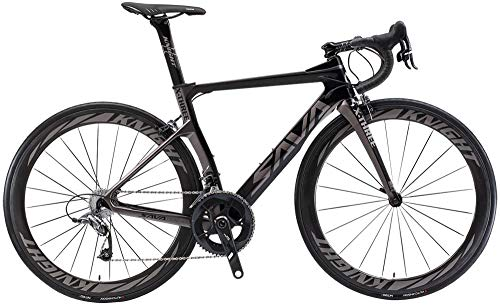 SAVADECK Phantom3.0 carbon racefiets 700C koolstofvezel fiets met Shimano Ultegra R8000 22 speed groepset Continental…