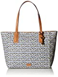 Image of Fossil Emma Tote-Blue Print