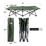 REDCAMP X-Large Camping Cot for Adults, Oversize