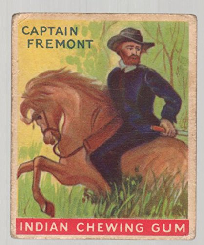 Fremont Series - 1933 Goudey Indian Gum (Non-Sports) Card# 112 Captain Fremont of the series of 192 Fair Condition