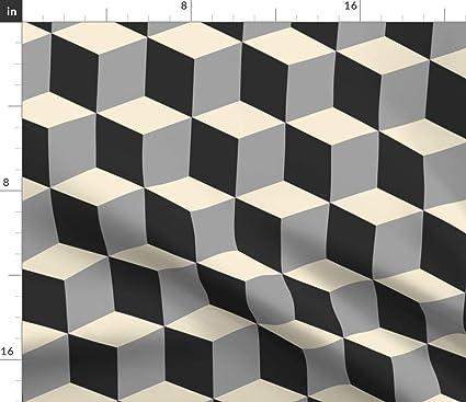 Amazon com: Spoonflower Tessellation Fabric - Color Pattern