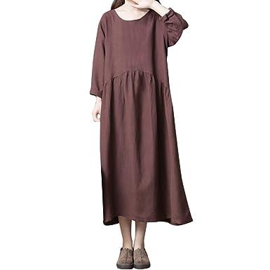 baskets officiel de vente chaude gamme exclusive POachers Robe Maxi Longue Femme Pull Robes Ample Style Boho ...