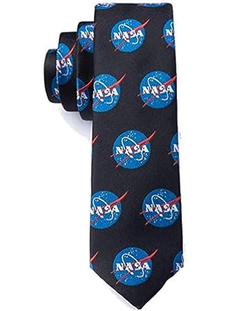 Hombre Nasa Logo Space NASA Corbata extra larga con licencia ...