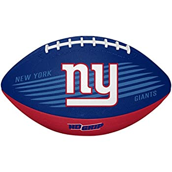 Rawlings NFL New York Giants 07731078111NFL Downfield Football (All Team Options), Blue, Youth