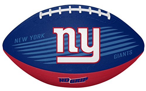 - Rawlings NFL New York Giants 07731078111NFL Downfield Football (All Team Options), Blue, Youth
