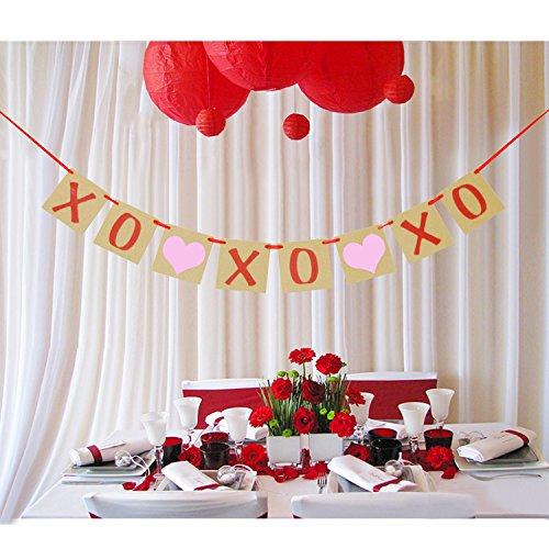 XOXO Banner   Valentine's Day Banner Garland  